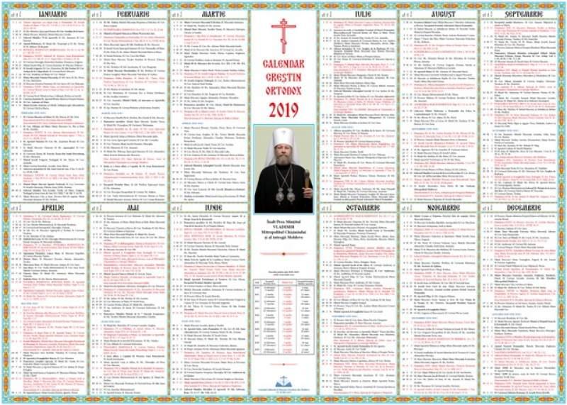 Calendar ortodox - 2020  |Calendar Ortodox August 2020