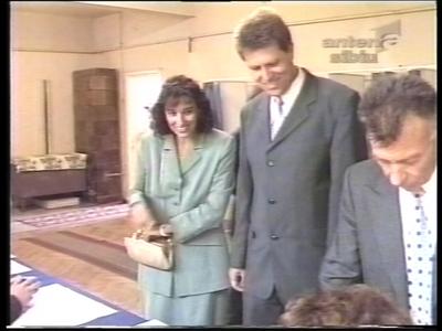 Carmen și Klaus Iohannis în tinerețe