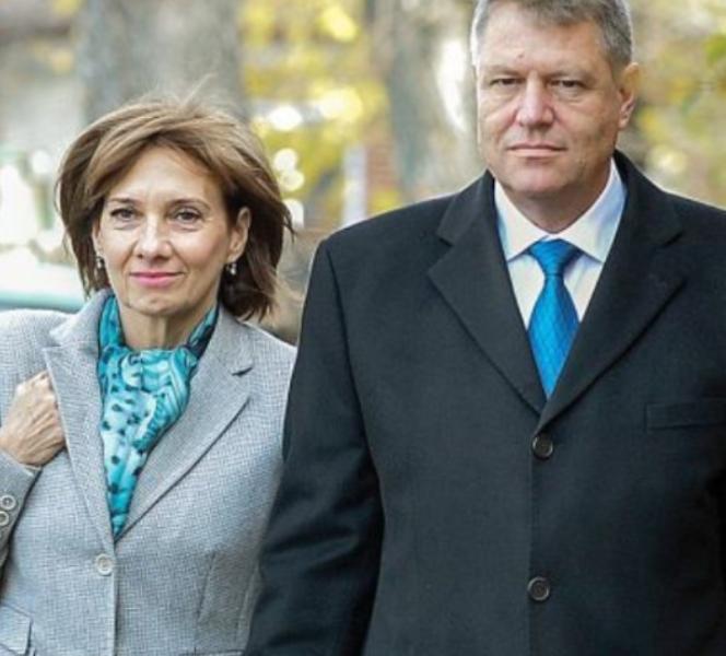 Klaus Iohannis, alături de Carmen Iohannis