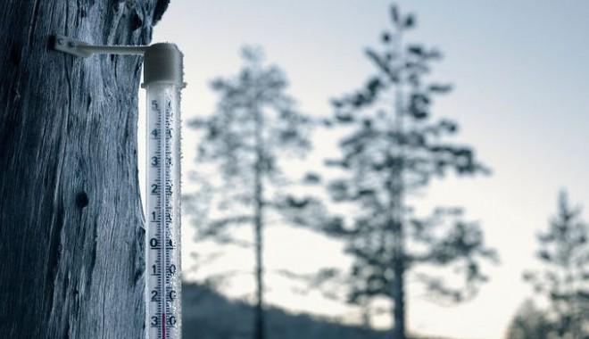 Cea mai scăzută temperatură la Întorsura Buzăului a fost de -35,8 grade Celsius