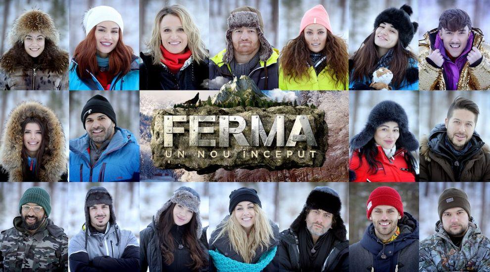 Cei 18 concurenți care iau startul în reality show-ul Ferma