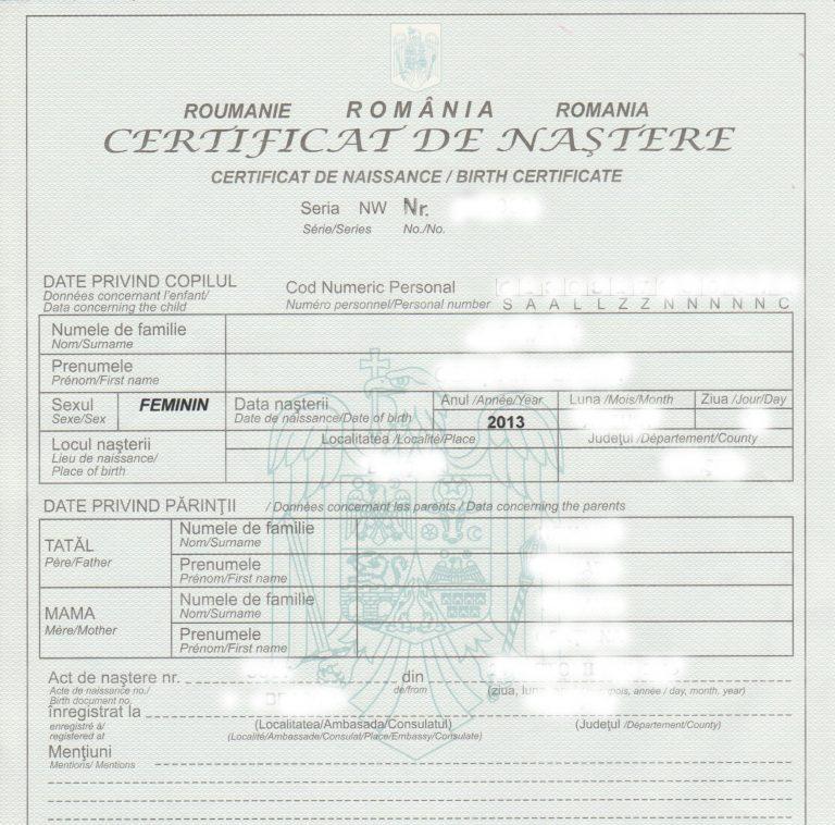 Se schimba certificatele de nastere, in Romania! Parintii trebuie sa stie neaparat aceste reguli!