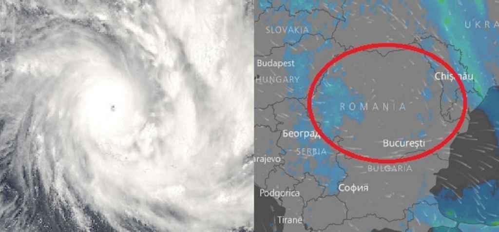 Ciclon mediteranean în România