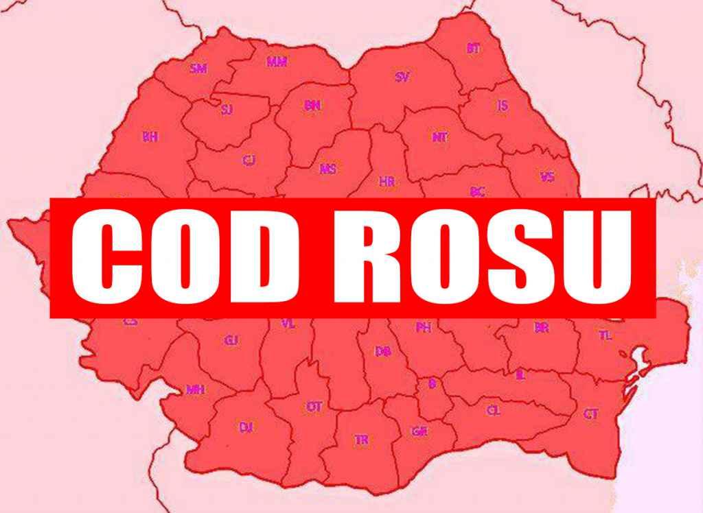 Cod roșu, emis de ANM! Risc maxim de avalanșă. Zonele afectate
