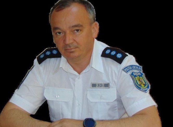 Constantin Florin Ene, șeful Poliției Locale din Bacău