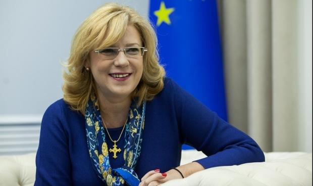 Corina Crețu și-a anunțat candidatura la europarlamentare
