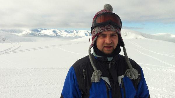 Cosmin Seleși la schi