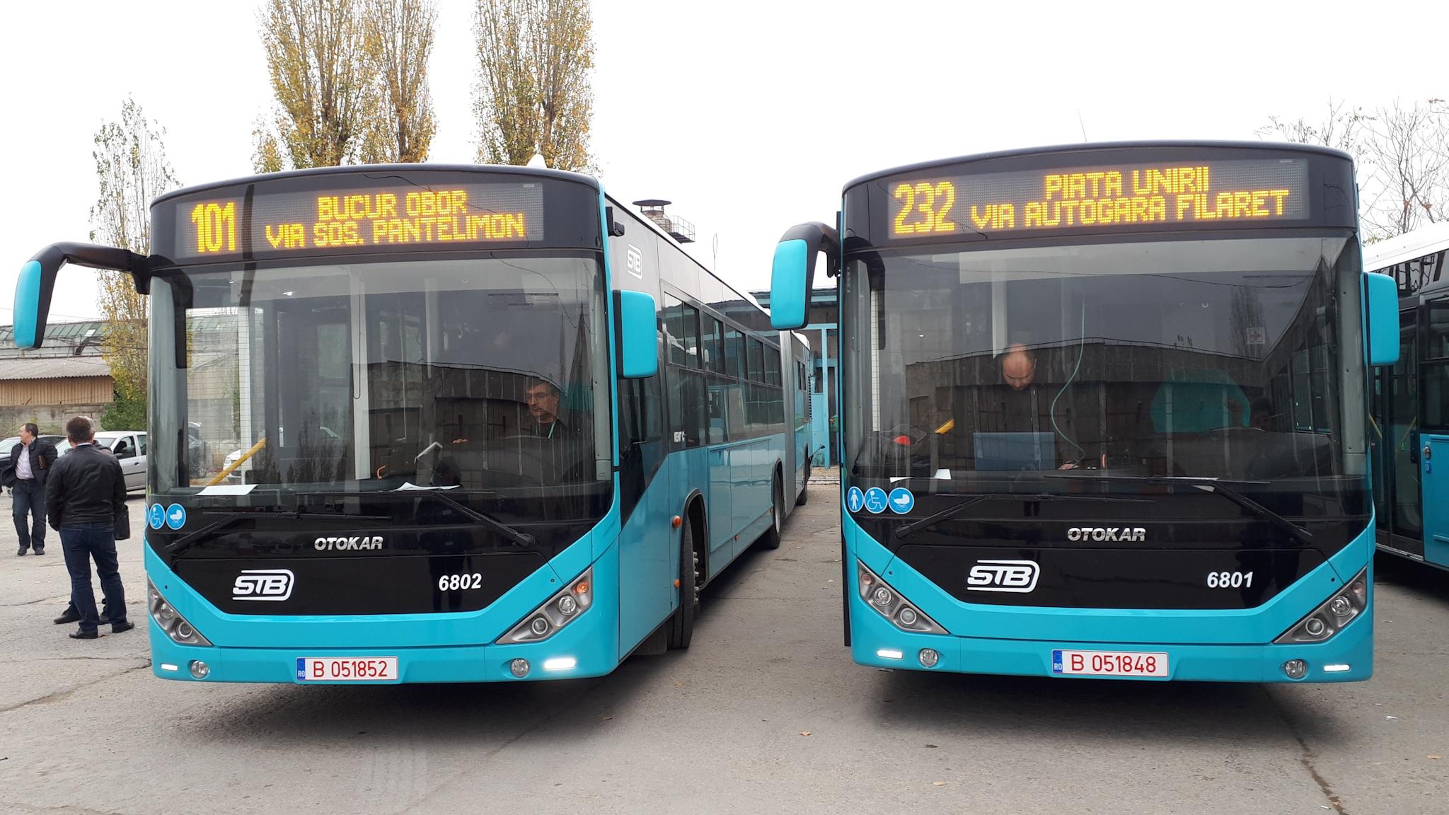Nu numai oamenii de rând, ci și șoferii STB s-au plâns de aceste autobuze Otokar
