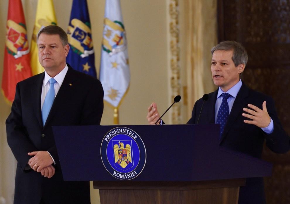 """Klaus Iohannis, mesaj aprig pentru Dacian Cioloș: Nu l-am susținut. L-am propus și promovat"""""""
