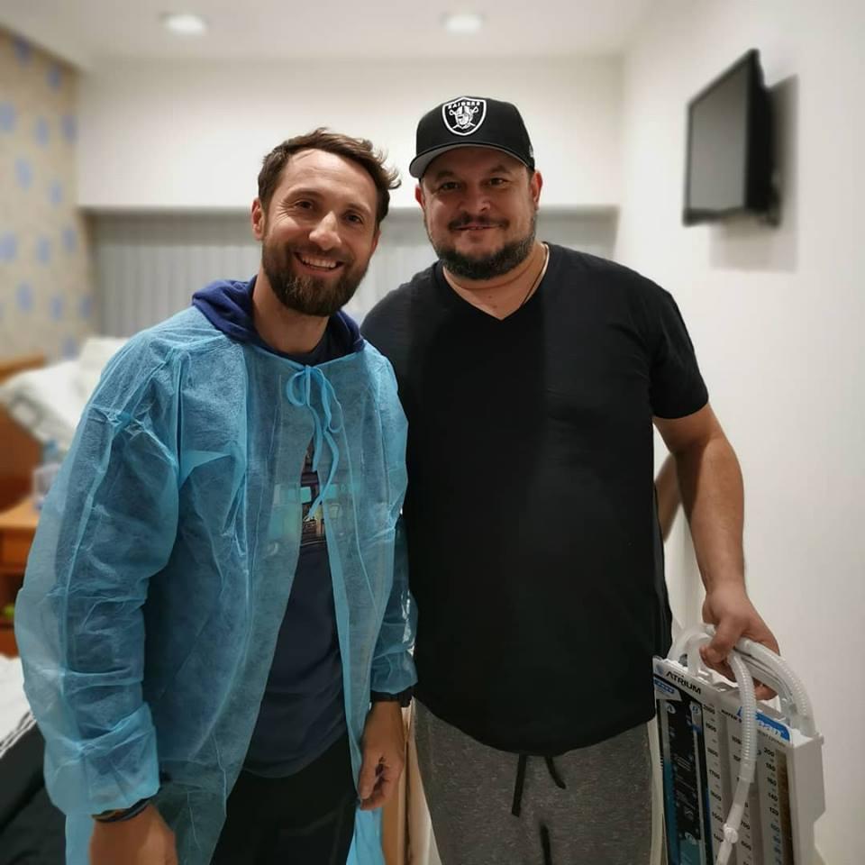 Dani Oțil nu și-a lăsat prietenul la greu: l-a vizitat în spital pe Mihai Bobonete