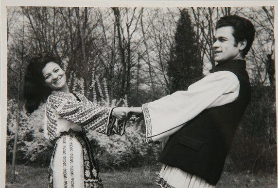 Ion Dolănescu și Maria Ciobanu