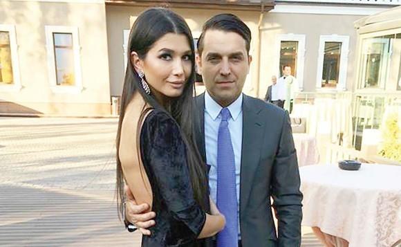 Elena Băsescu împreună cu Bogdan Ionescu(Syda)