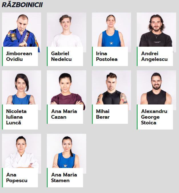 Ei sunt cei 10 Războinici care vor participa la Exatlon 3