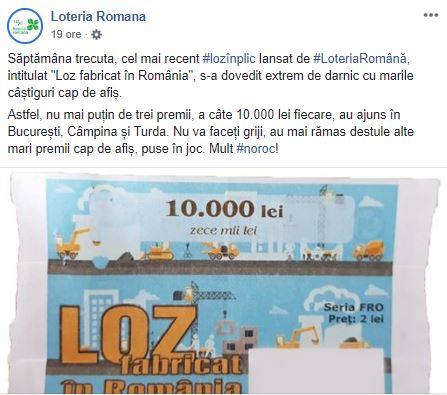 Facebook Loteria Română