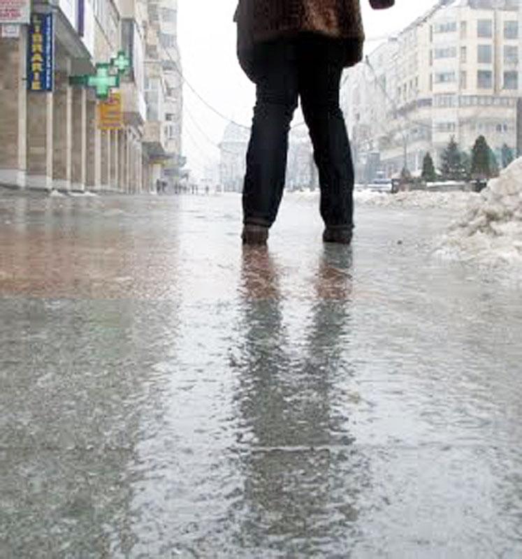 Freezing rain, București