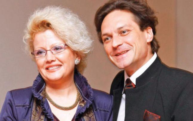 George Ivașcu și Alice Barb, soția acestuia