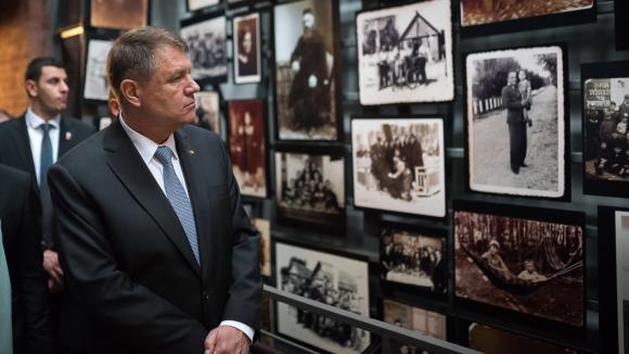 Klaus Iohannis, mesaj de Ziua Holocaustului! Ce a transmis preşedintele României