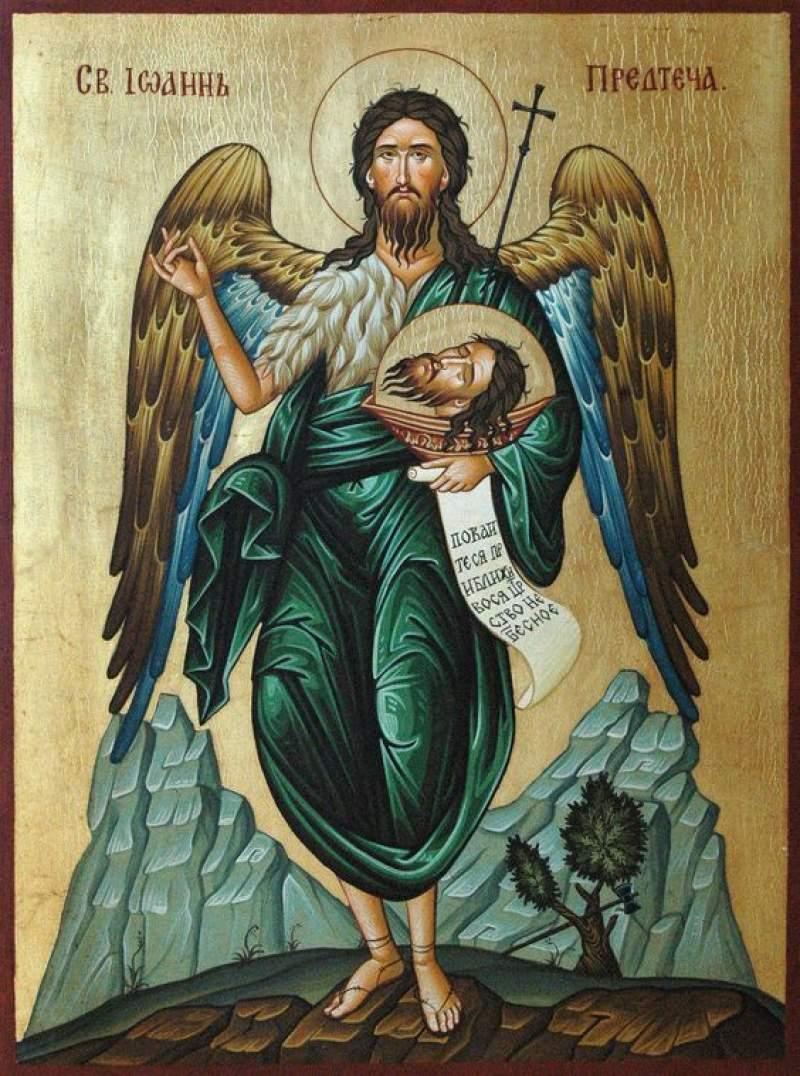 Cea mai puternică rugăciune către Ioan Botezătorul
