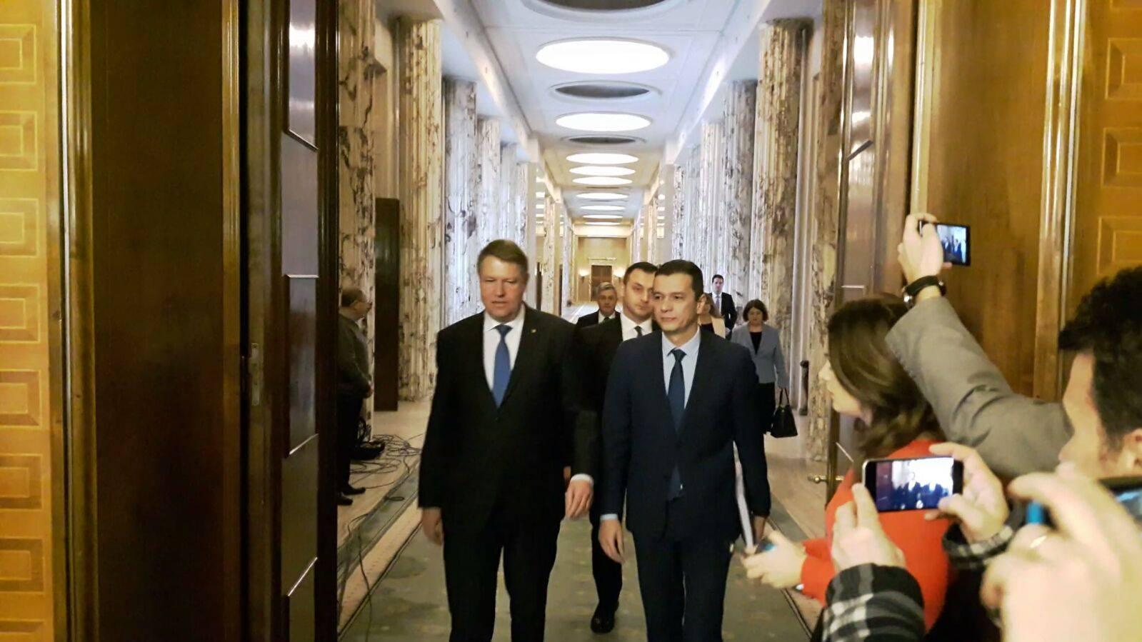 Răspunsul Guvernului pentru Klaus Iohannis, după refuzul de a numi miniștrii propuși