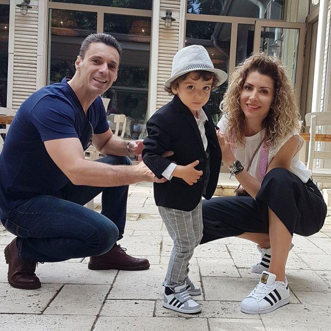Mircea Badea, Carmen Brumă și fiul lor, Vlăduț