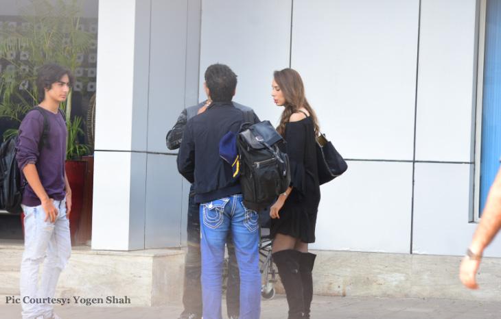 Iulia Vântur și Salman Khan s-au întors din vacanță! Cum au fost surprinși cei doi FOTO