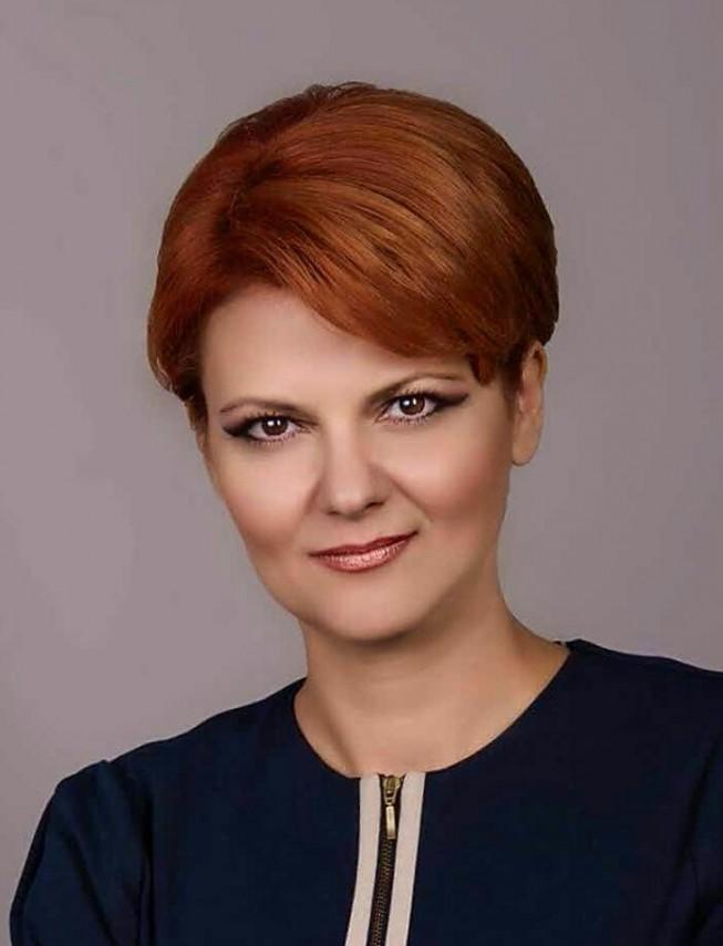 Lia Olguţa Vasilescu, propunerea PSD pentru Ministerul Dezvoltării