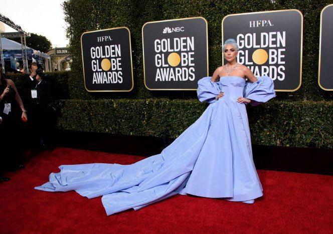 Lady Gaga la premiile Globurilor de AUr 2019