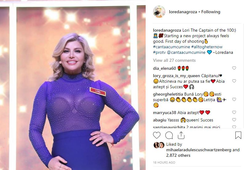 Loredana Groza revine în televiziune! Ce emisiune va prezenta, la Pro TV