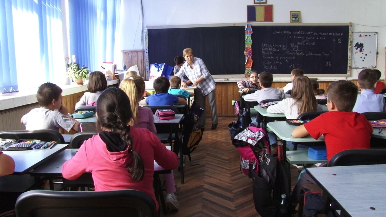 Marți, 29 ianuarie, s-au înregistrat 500 de cazuri de absenteism în școlile din România