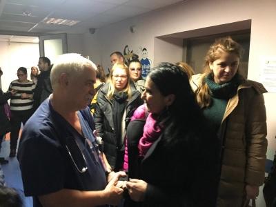 Medicul Adrian Stanciu le mulțumește celor care i-au făcut surpriza