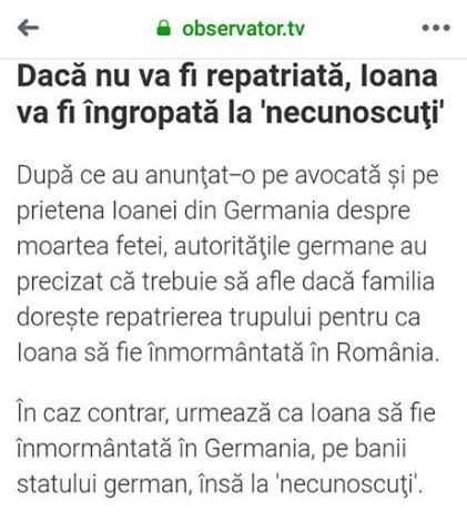 Familia Ioanei Condea are nevoie de 5.000 de euro pentru a o putea aduce în țară. Cum o poți ajuta