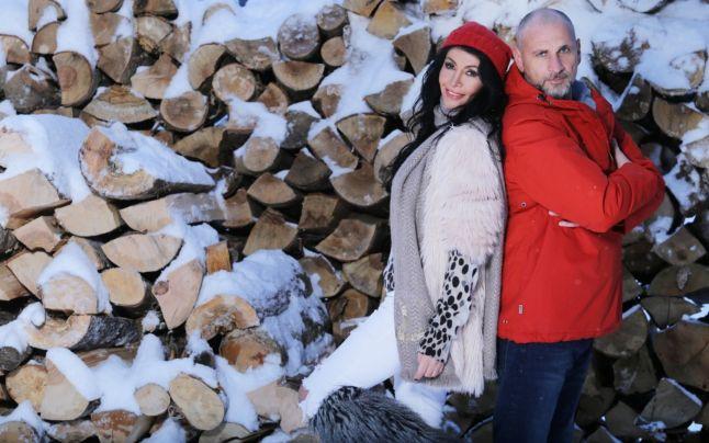 Mihaela Rădulescu alături de Cristian Bozgan