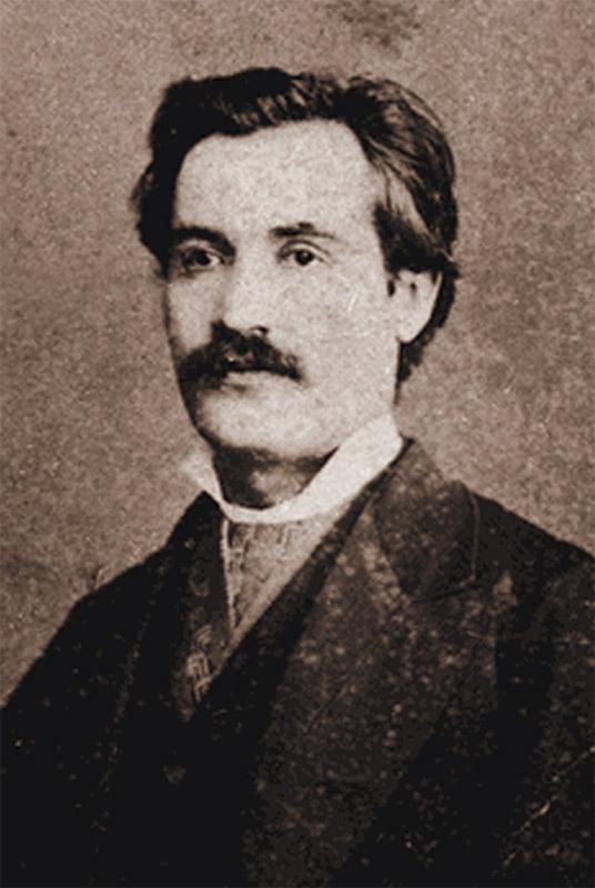 Mihai Eminescu la 28 de ani, în februarie 1878, în plină creație creatoare