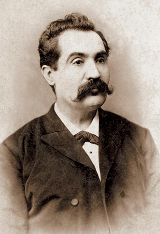 Mihai Eminescu la 37 de ani, în noiembrie 1887, ultima fotografie... Avea să moară peste numai 2 ani...