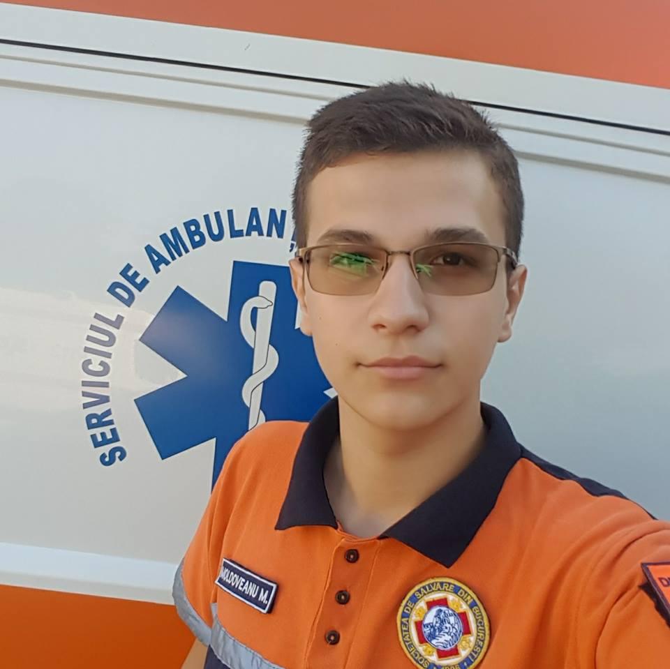 Mihai Daniel Moldoveanu, voluntarul salvator