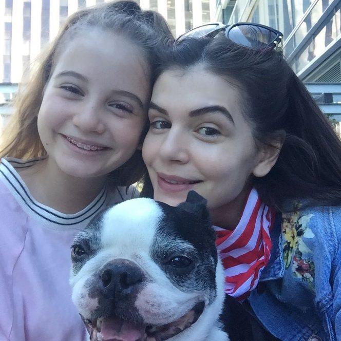 Monica Gabor, alături de fiica sa, Irina Columbeanu