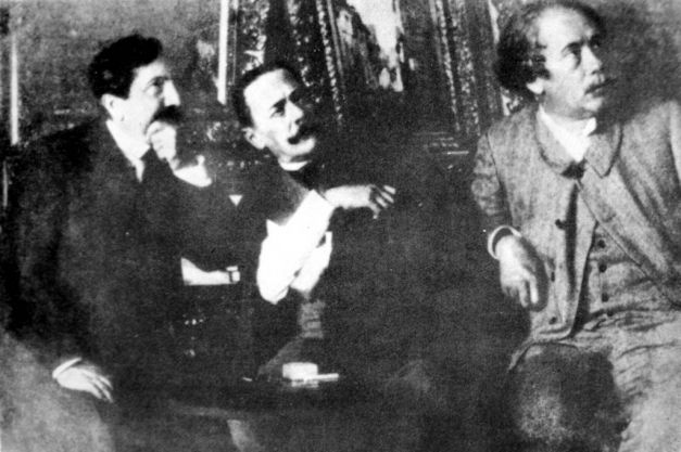 Ion Luca CAragiale în timpul procesuluinintentat împotriva lui Constantin Alexandru Ionescu, cunoscut sub pseudonimul Caion, care îl acuzase de plagiat