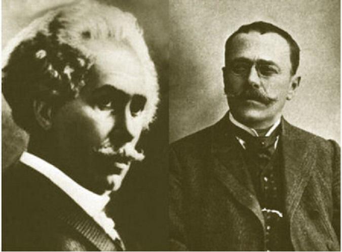 Barbu Ștefănescu Delavrancea și Ion Luca Caragiale, doi mari scriitori, doi mari prieteni de la începutul veacului al XX-leaa