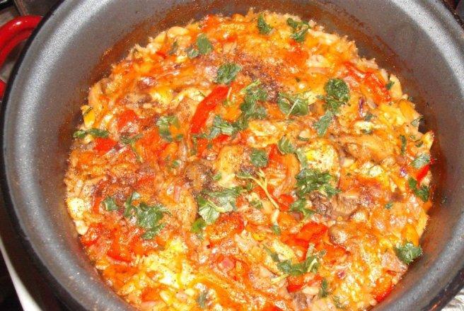 Pilaf de orez sârbesc
