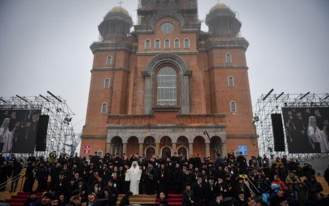 Papa Francisc și Patriarhul Daniel vor rosti rugăciuni la Catedrala Mântuirii Neamului