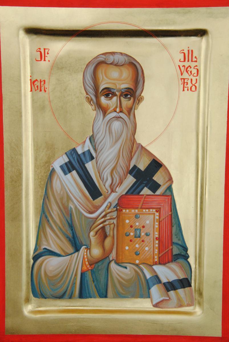 Părintele nostru Silvestru, papă al Romei