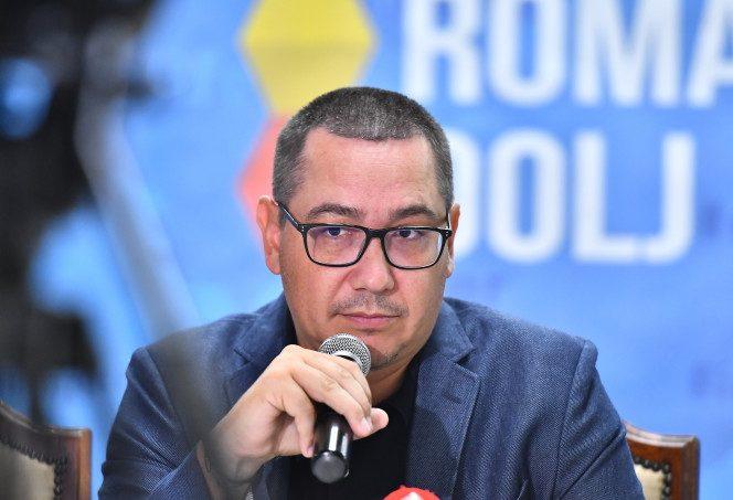 Victor Ponta atacă!