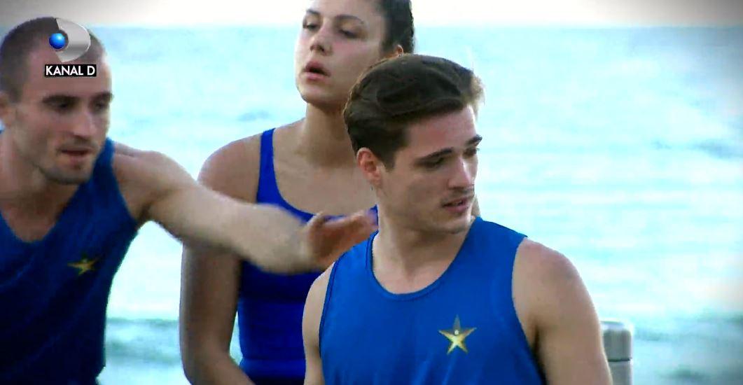 Fratele lui Alex Nedelcu, Gabi Nedelcu, avea o dispută cu unul din colegii din echipa adversă