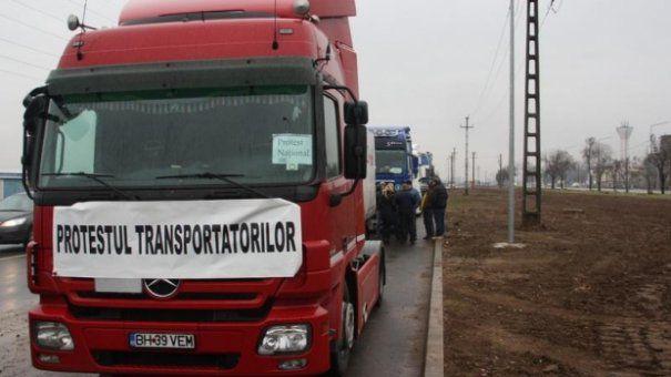 Protestul transportatorilor ar putea fi la nivel național