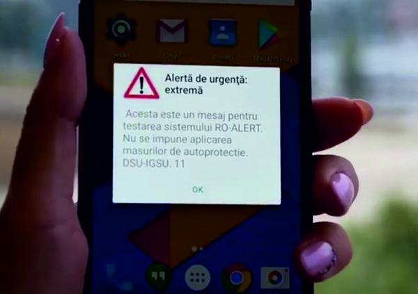 RO-Alert, aplicație pentru avertizarea în caz de cutremure cu magnitudine mare, inundații, fenomene meteo extreme sau atacuri teroriste