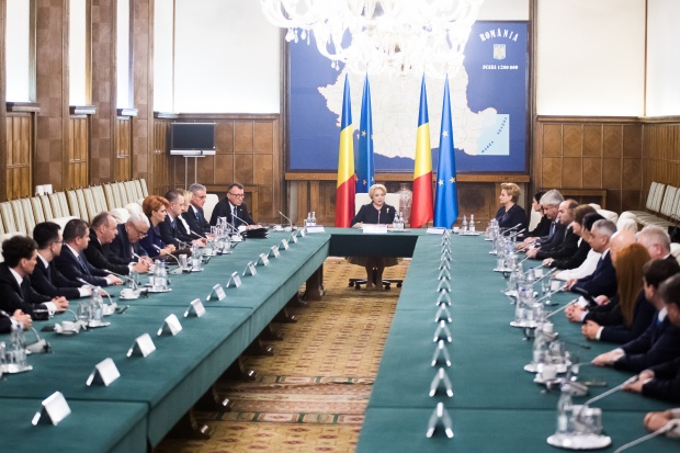 Ședință de Guvern la Palatul Victoria