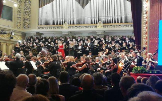 Viorica Dăncilă a anunțat înființarea orchestrei UE