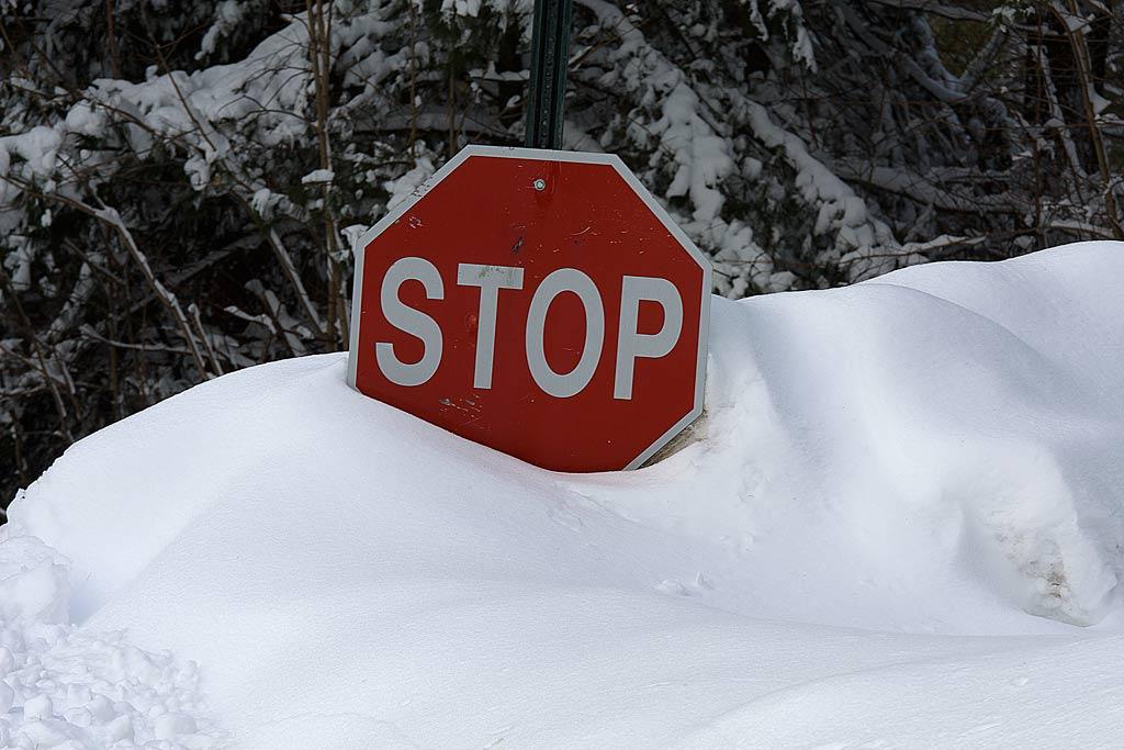 În acest moment, țara se află aproape în întregime sub zăpadă.
