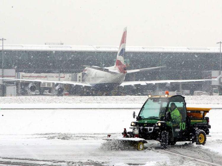 Zborurile pot avea întârzierei pe aeroporturile din Marea Britanie