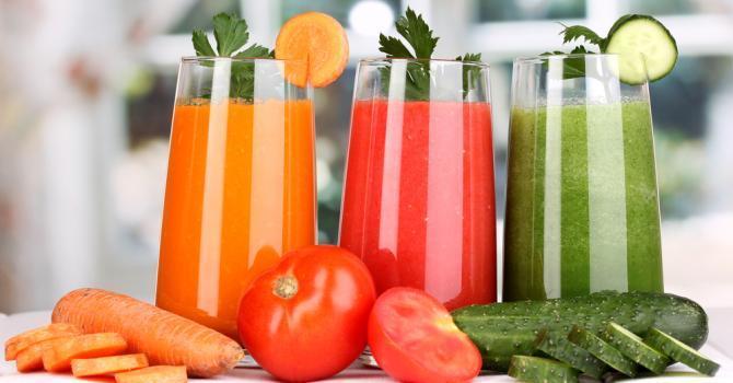 Sucurile de legume sau fructe întăresc sistemul imunitar împotriva gripei și răcelii și satisfac și nevoia de hidratare a organismului